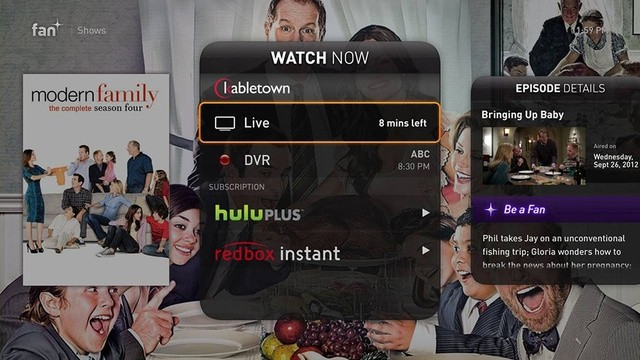 fan hot set-top-box organized content apps set-top box fan tv