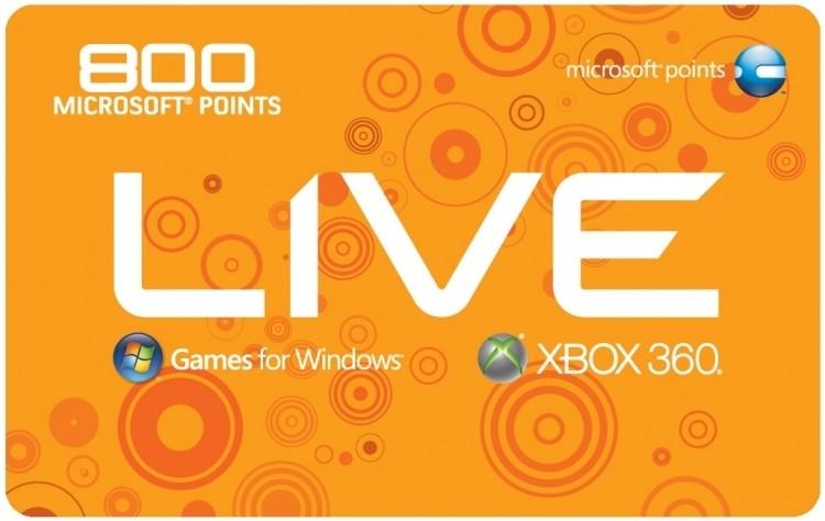 microsoft, microsoft points, xbox live, redmond, xbox live arcade, xbox one