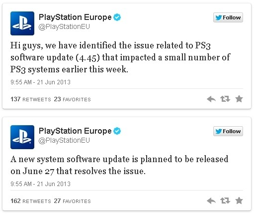 playstation patch firmware playstation 3 fix