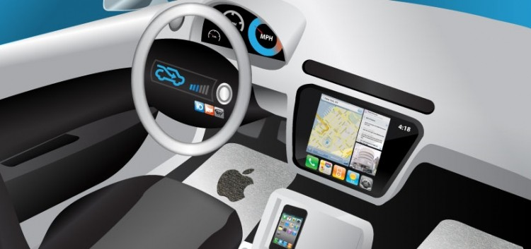 apple, patent, car, touchscreen, automotive industry, ios in the car