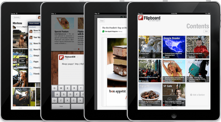 flipboard, magazine, mobile app