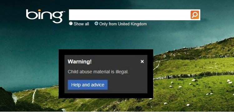 google, microsoft, yahoo, bing, search, blacklist, child abuse, photos, child porn