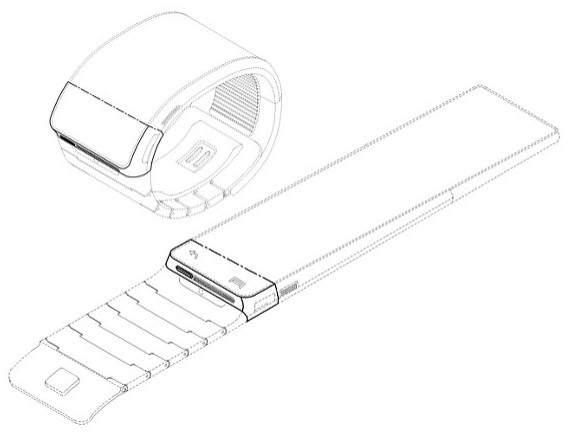 samsung galaxy gear smartwatch patent filing