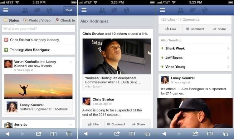facebook twitter trending topics