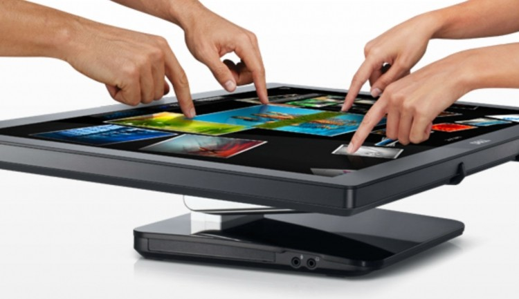 dell, ips, lian li, monitor, 3m, multi-touch, projector
