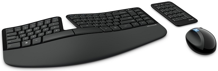 microsoft, sculpt ergonomic desktop