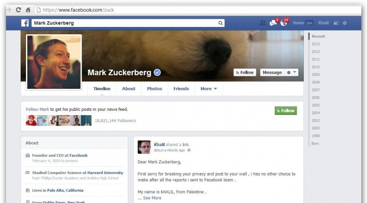 facebook, mark zuckerberg, hacking, security, white hat, bug bounty