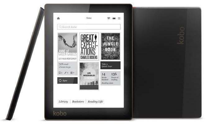 kobo aura arc kobo e-reader mid-size luxury