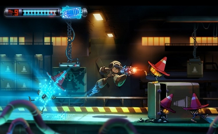 kickstarter, crowdfunding, robots, game, mega man, keiji inafune, mighty no 9