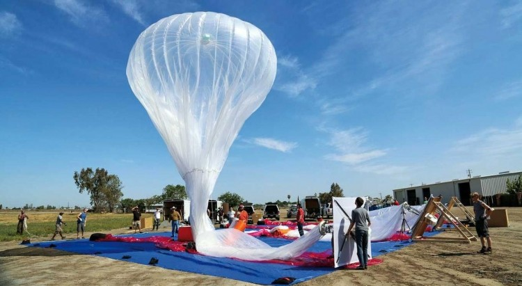 google, internet, project loon, balloon