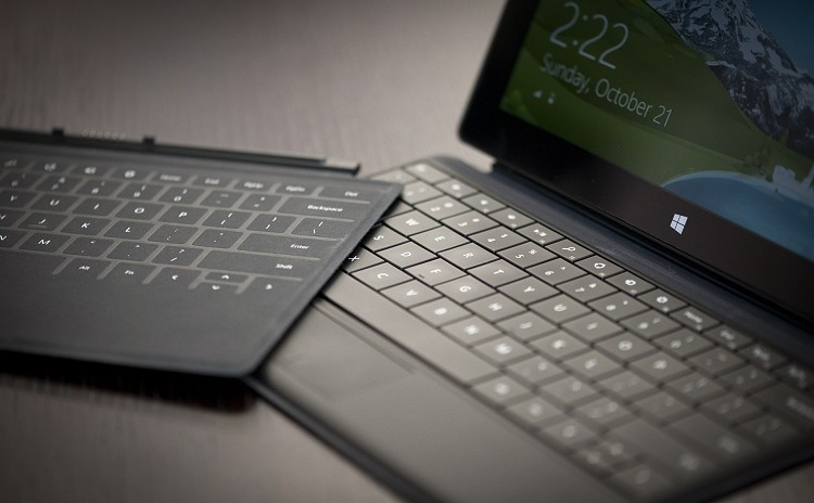 microsoft, keyboard, microsoft surface, surface 2, power cover