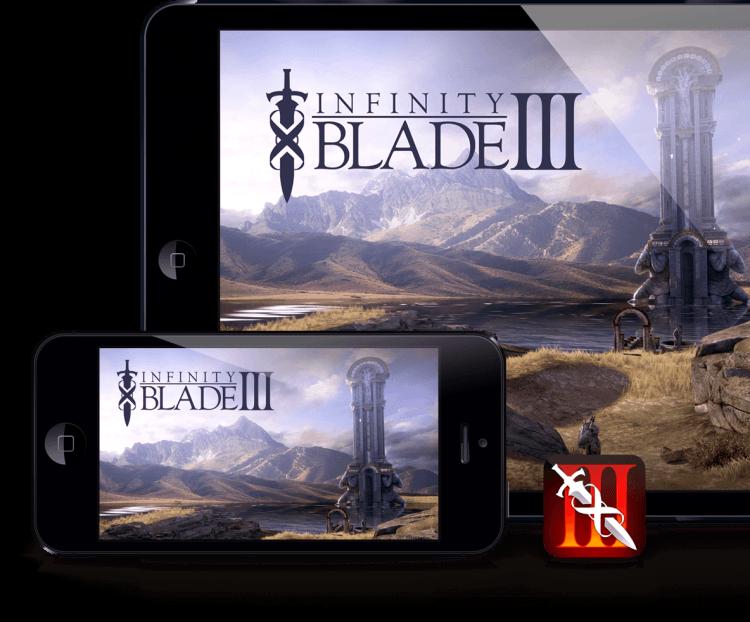 infinity blade iii app store ios
