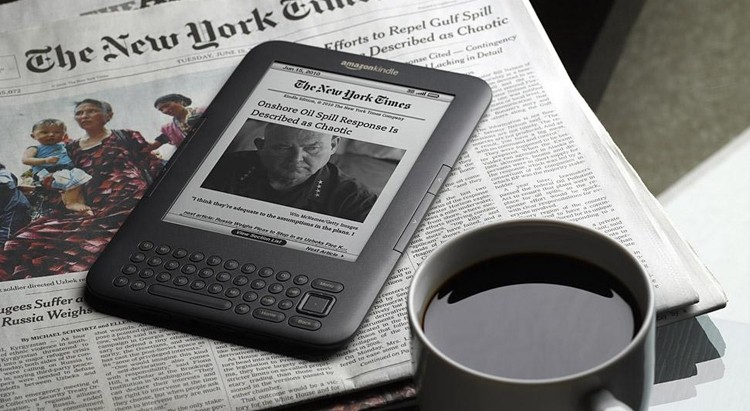 open forum, kindle, tablet, smartphone, weekend open forum, books, newspaper, reading