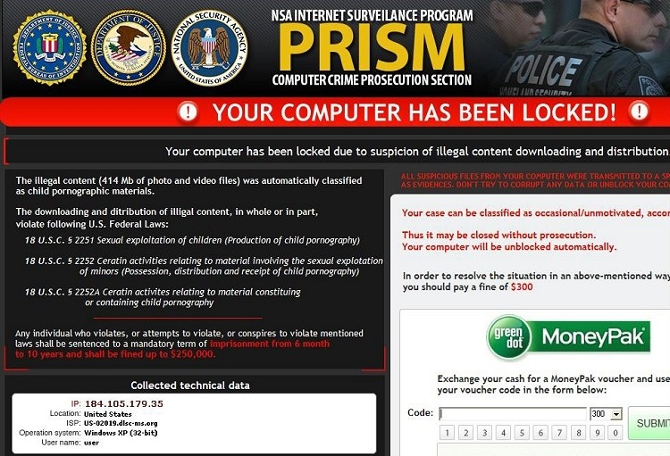 nsa-themed nsa scam ransomware