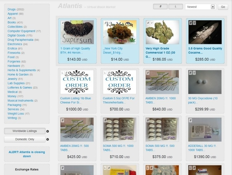 atlantis drugs black market