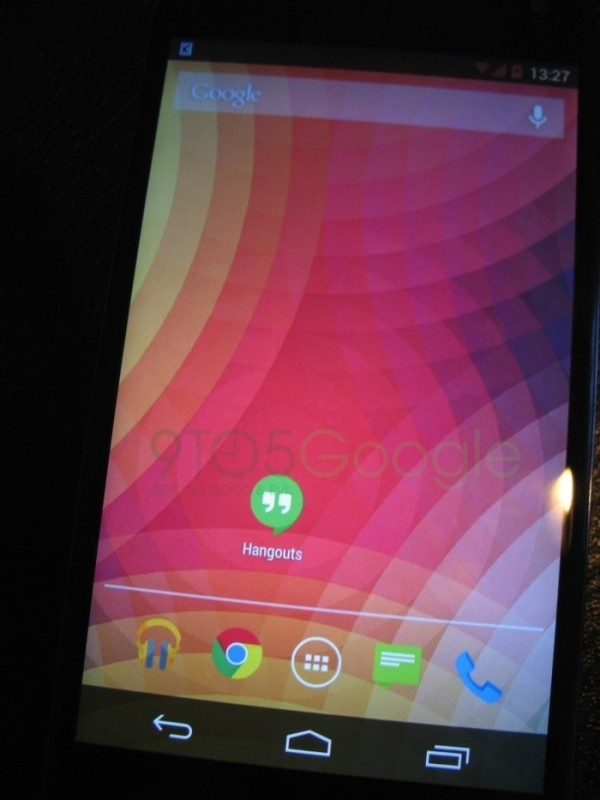 alleged android kitkat images suggest flattened design google android mobile os redesign kitkat android 4.4