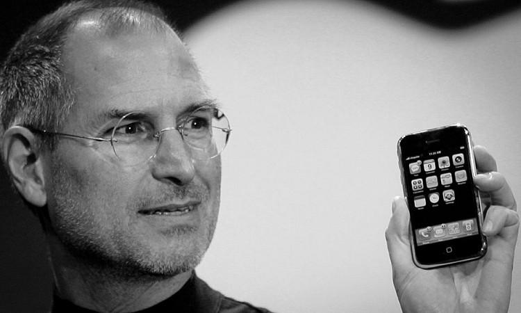 apple, iphone, steve jobs