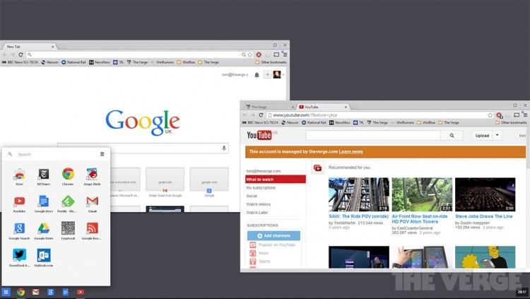 google windows chrome