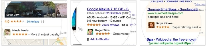 google start employing user ratings photos shared endorsements ads tos terms of service