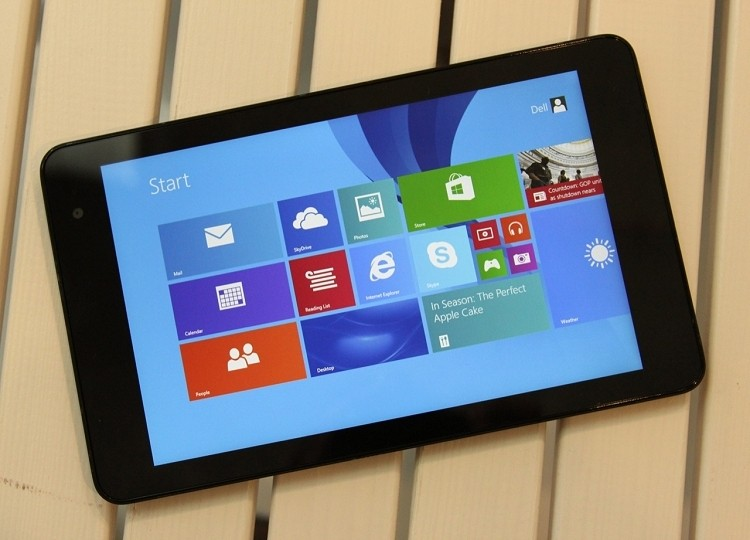 microsoft, windows, intel, dell, atom, tablet, bay trail, windows 8.1, dell venue 8 pro