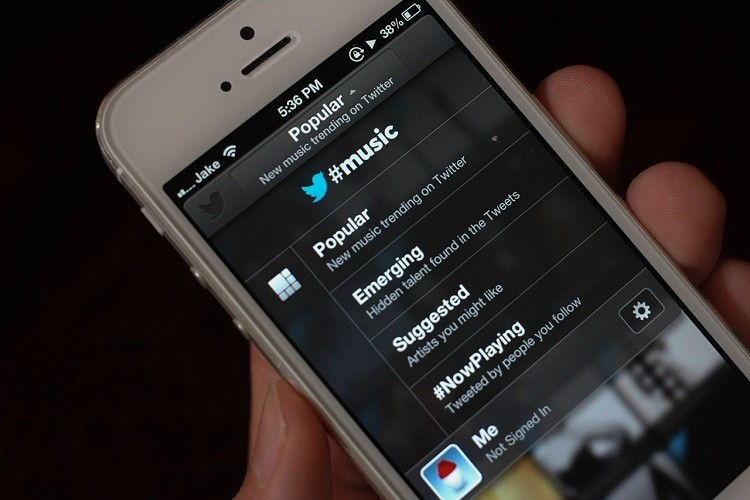 twitter, music, music app