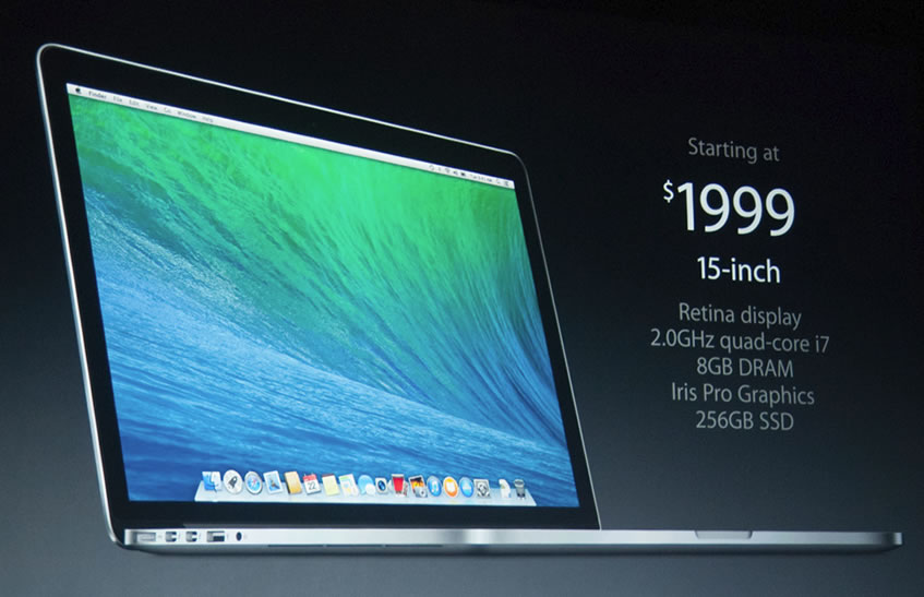 Apple refreshes MacBook Pro Retina laptops with Haswell, cuts prices