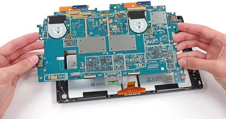 microsoft surface ifixit microsoft teardown repairability surface 2
