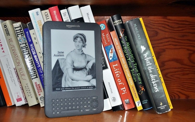 amazon, kindle, books