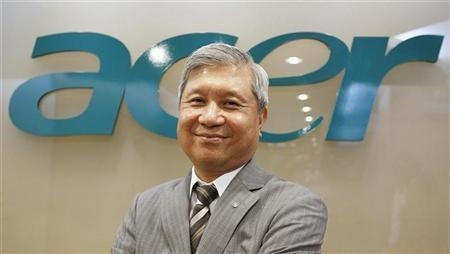 acer ceo acer ceo j.t wang jim wong q2 2012 lenovo dell hp