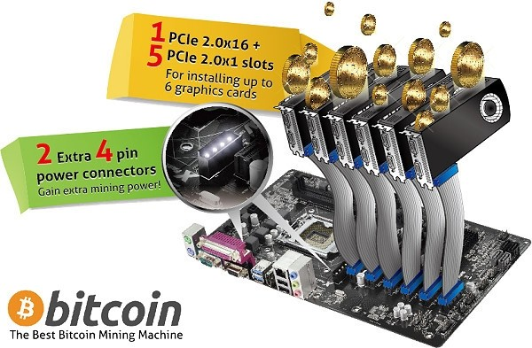 asrock unveils motherboards bitcoin mining asrock