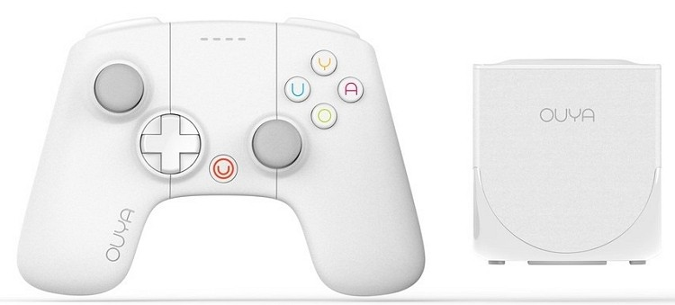 limited edition white ouya coming holidays holiday ouya gaming console