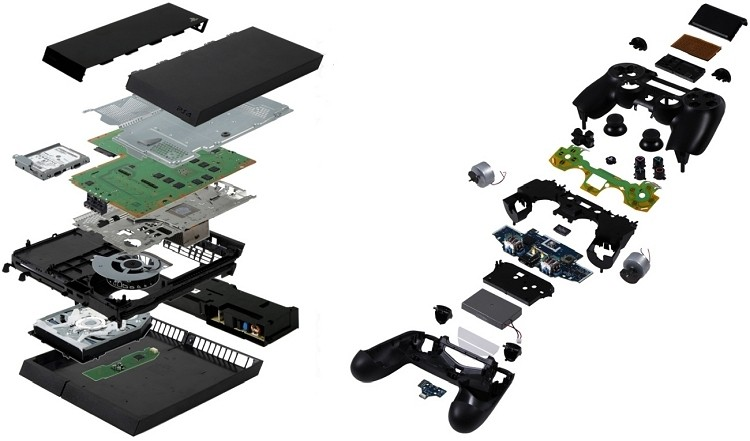 report playstation sony teardown playstation 4 ihs isuppli