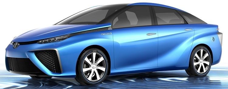 honda hyundai toyota hydrogen fuel cells