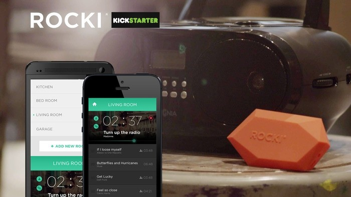 rocki wifi-enabled speakers wi-fi kickstarter