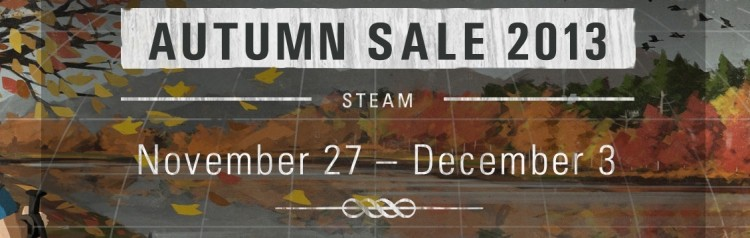 valve, steam, gaming, sale, pc gaming, black friday, autumn sale, games