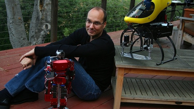 google, amazon, android, ups, andy rubin, robotics, drone, robots