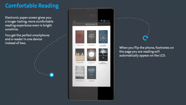 android, kindle, germany, europe, smartphone, russia, e-reader, yotaphone