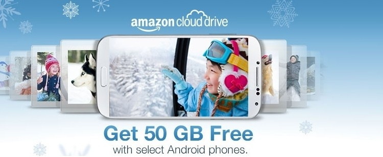 amazon, android, cloud drive, free storage