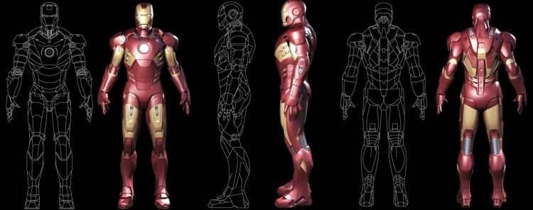 3d printer, iron man