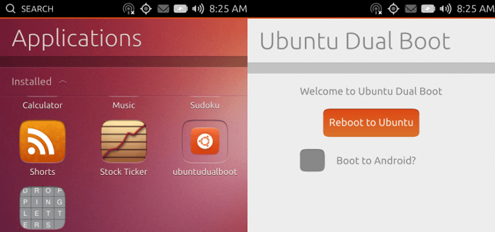 canonical ubuntu android dual boot