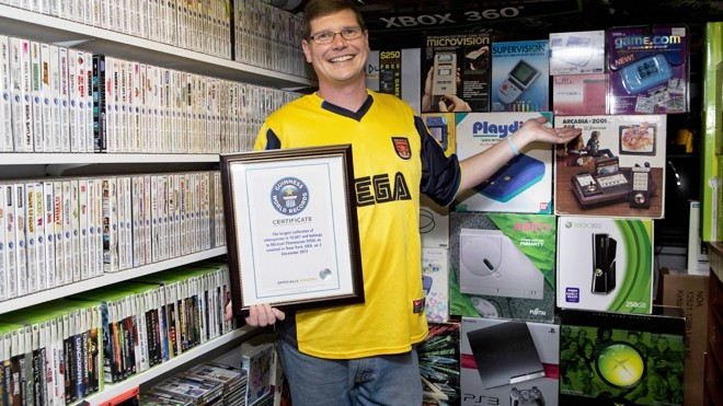 man garners guinness record owning video games guinness world record games video game collection