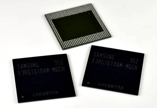 samsung ram smartphone