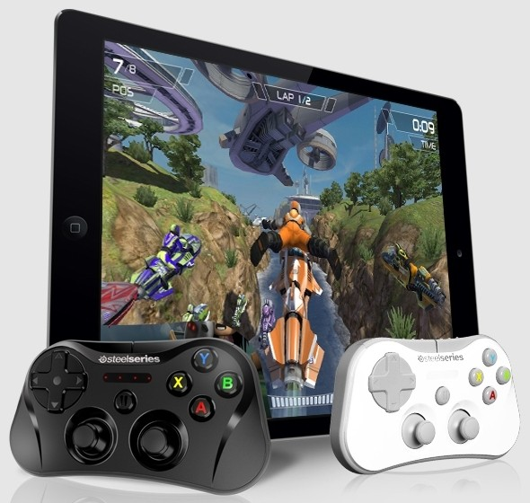 steelseries stratus ios apple gaming ios 7 wireless gamepad