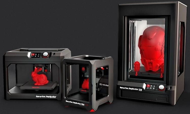 ces, makerbot, 3d printer, ces 2014