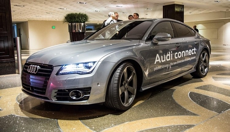 ces, audi, autonomous cars, self driving car, ces 2014
