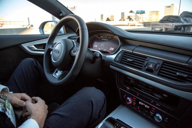 audi ces self driving car ces 2014