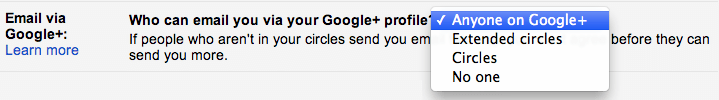 google gmail privacy messages