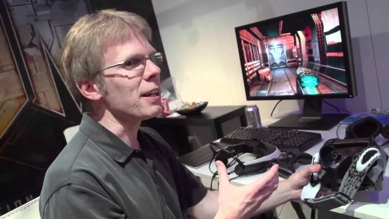gaming, id software, john carmack, virtual reality, vr, oculus rift