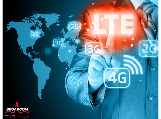 lte, smartphone, 4g, wifi, broadcom, 5g, android kitkat