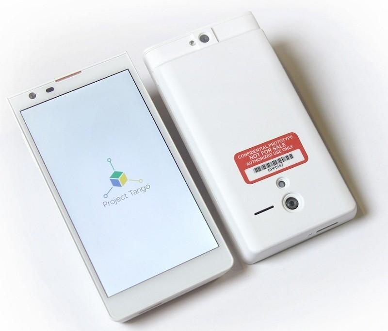 google, smartphone, project tango